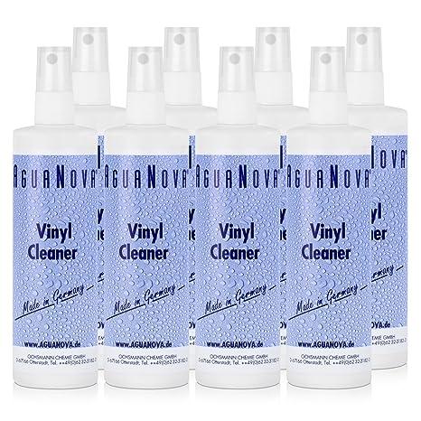 8 x AguaNova vinilo limpiador 250 ml, cuidado y Protección para los colchones de agua