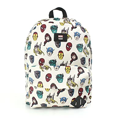 4512600fa26ec Amazon.com | Vans M OLD SKOOL II BACKPACK (Marvel Character ...