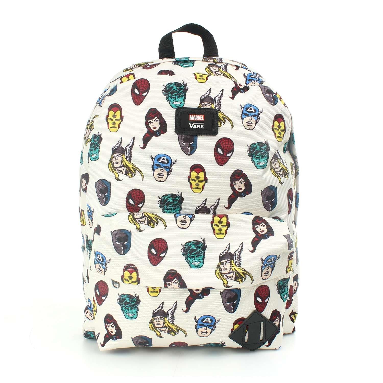 VANS Old Skool II Backpack Schoolbag Superheroes (MARVEL) Schoolbag Backpack VN000ONIRUB VANS MARVEL Bags 9b43b8