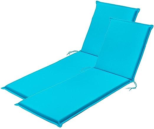 Traumnacht Traumancht Komfort Cojines para Silla, Azul Aqua ...