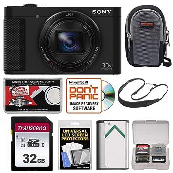 Amazon.com: Sony Cyber-SHOT DSC-HX90 V WiFi GPS Cámara ...