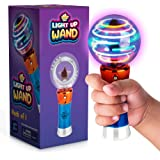 Spinning Light-Up Wand for Kids in Gift Box, Rotating LED Toy Wand for Boys and Girls, Magic Princess Sensory Toys for…