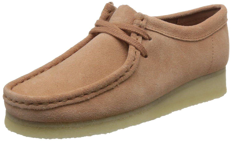 Clarks Wallabee - Zapato brogue de cuero mujer 39.5 EU Sandstone
