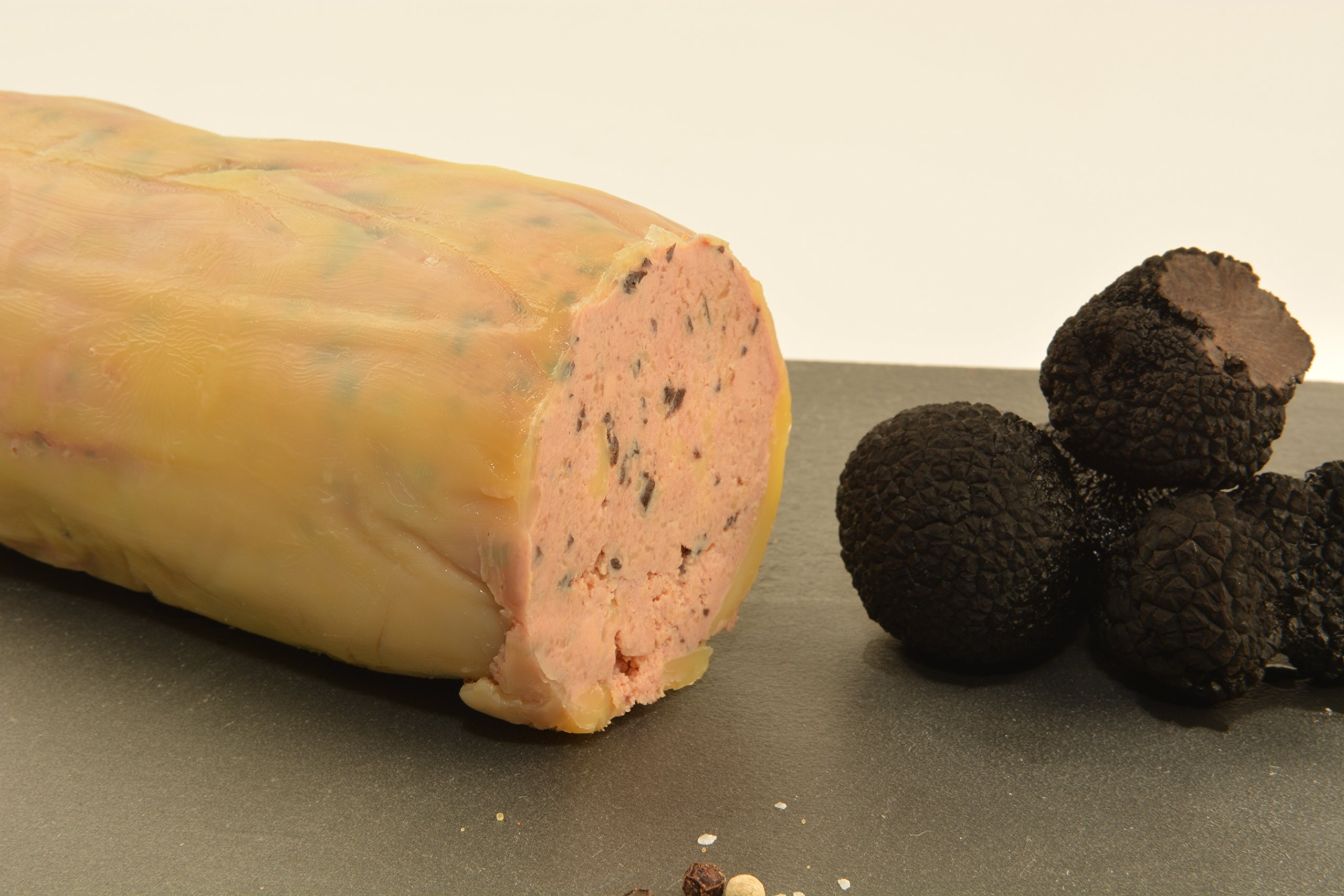 French-Style Torchon of Foie Gras with Black Truffles, 1.3 lb by Angel's Salumi (Image #1)