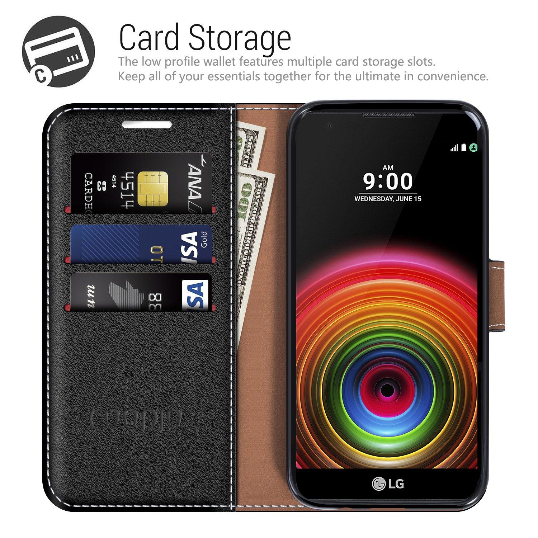 COODIO Funda LG X Power con Tapa, Funda Movil LG X Power, Funda ...