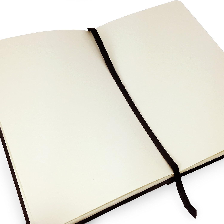 13 x 21 cm 80 hojas Royal Talens color negro 140 g//m/² Cuaderno de dibujo con tapa dura