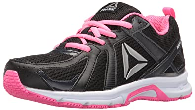 f954926eb2da66 ... where to buy reebok womens runner mt running shoe coal black poison  pink white 9cebd 3bbe7 ...