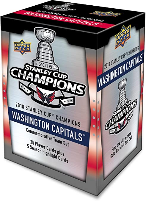 745ab83d767 Image Unavailable. Image not available for. Color  Upper Deck Washington  Capitals 2018 Stanley Cup Champions ...