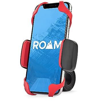 Roam Universal Premium Bike Phone Mount Holder for Motorcycle/Bike  Handlebars, Adjustable, Fits iPhone 6s / 6s Plus, iPhone 7/7 Plus, Galaxy  S7, Holds