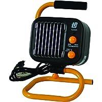 TPI Corporation 178TMC Fan Forced Portable Heater – Ceramic Heating Element, High/Low Fan – UL Listed Fan Heater. Space Heaters