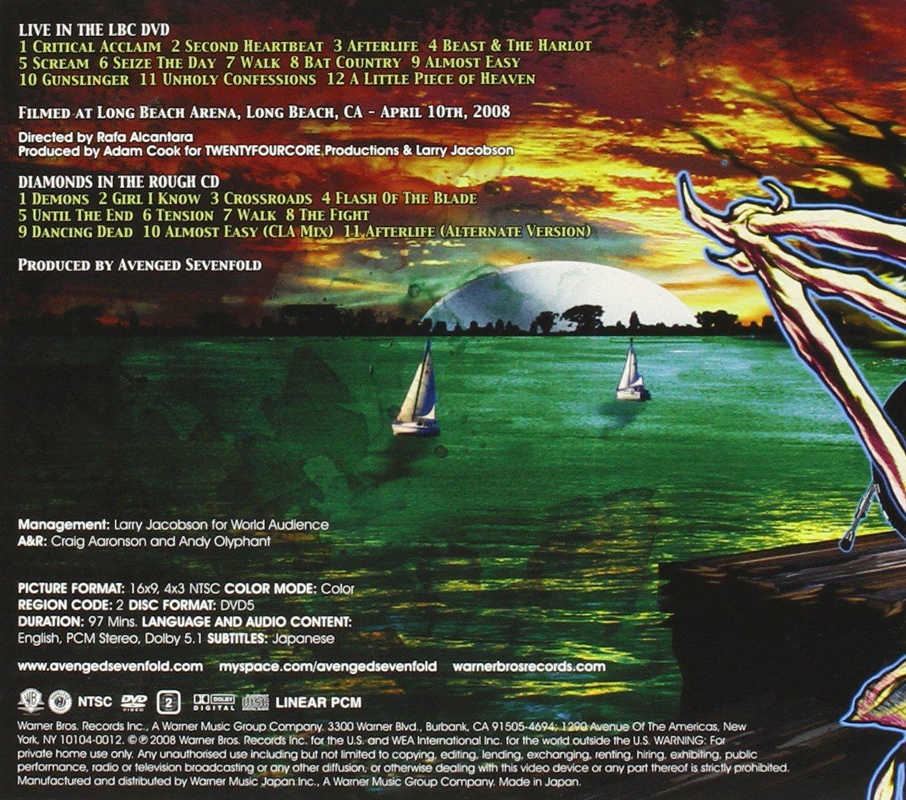 cd do avenged sevenfold live in the lbc