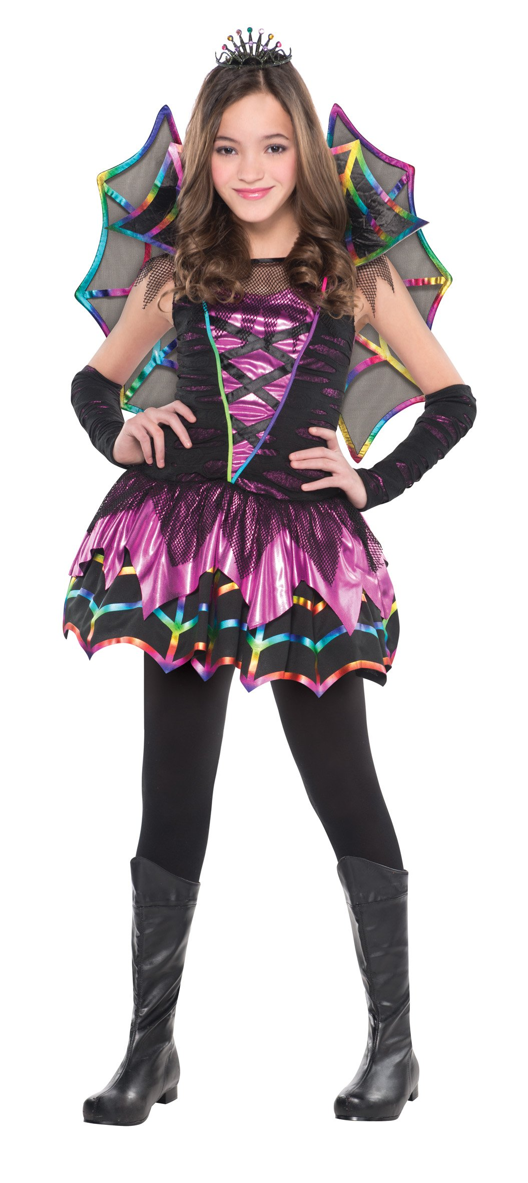 - 81bFVXksZjL - Christy's Girls Spider Fairy Costume (4-6 Years)