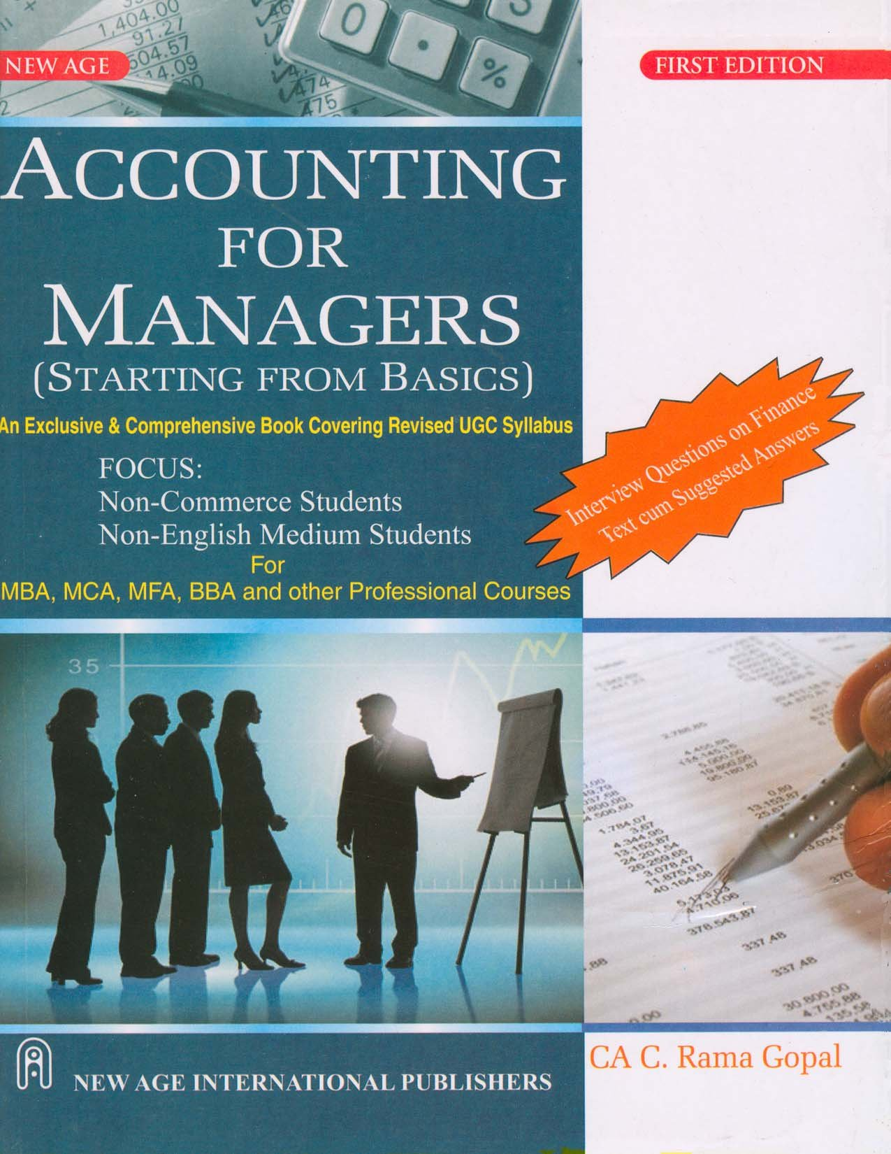 Accounting for Managers.
