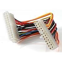 StarTech ATX24POWEXT Cable de Extensión de 20 cm de 24 Pines de Alimentación para Fuente de Poder ATX, 20 cm