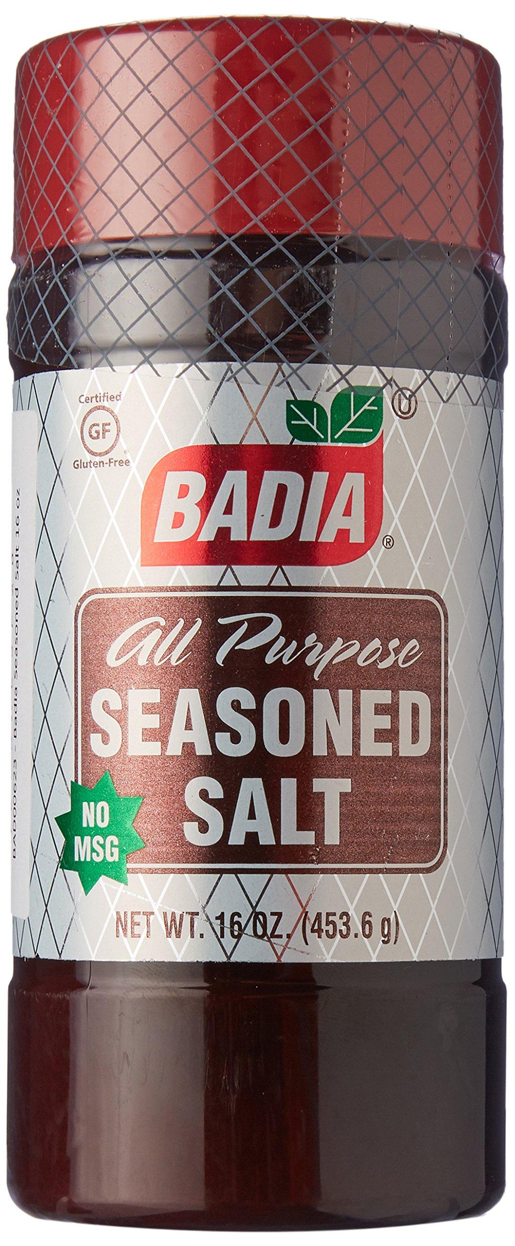 BADIA SEASON SALT, 16 OZ