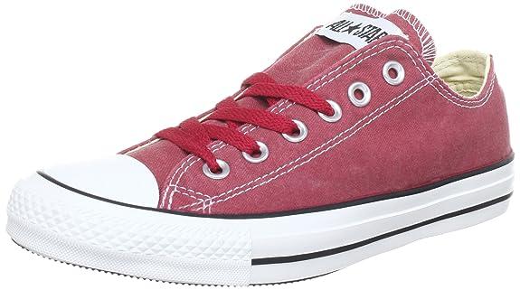 Converse 287140-55-43 - Zapatillas unisex, color rojo, talla 36