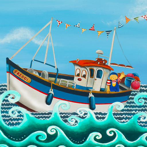 Amazon.com: Freddi the Fishing Boat - children's interactive reading book (1): Appstore for Android