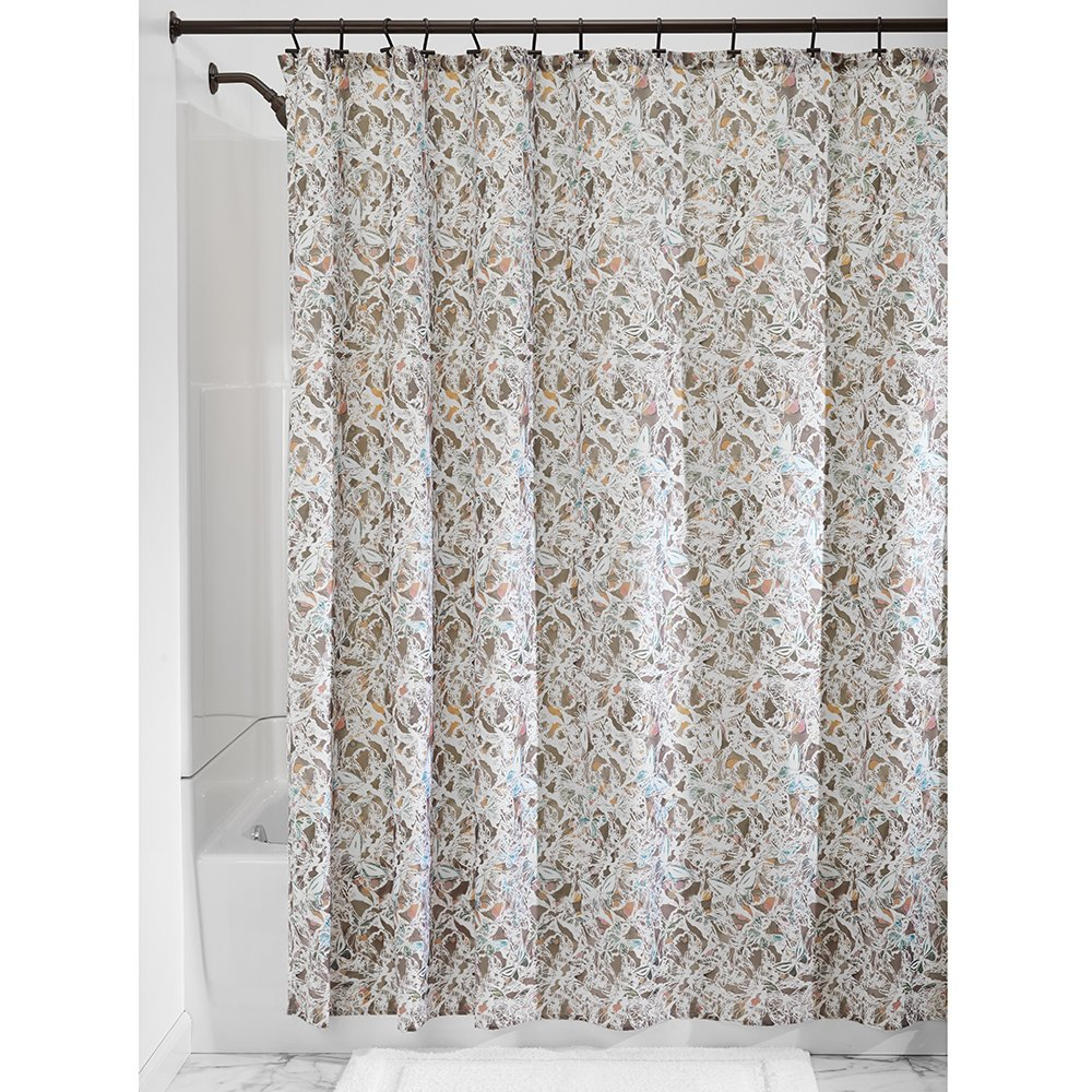 Amazon InterDesign Butterfly Fabric Shower Curtain 72 X Taupe Home Kitchen