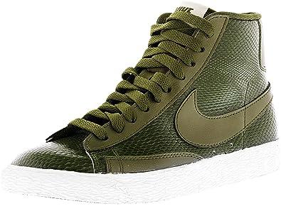 sale retailer 1b3e0 fb326 Nike Blazer Mid LTR PRM Women s Green 685225-300 (Size  8. 5)  Amazon.in   Shoes   Handbags