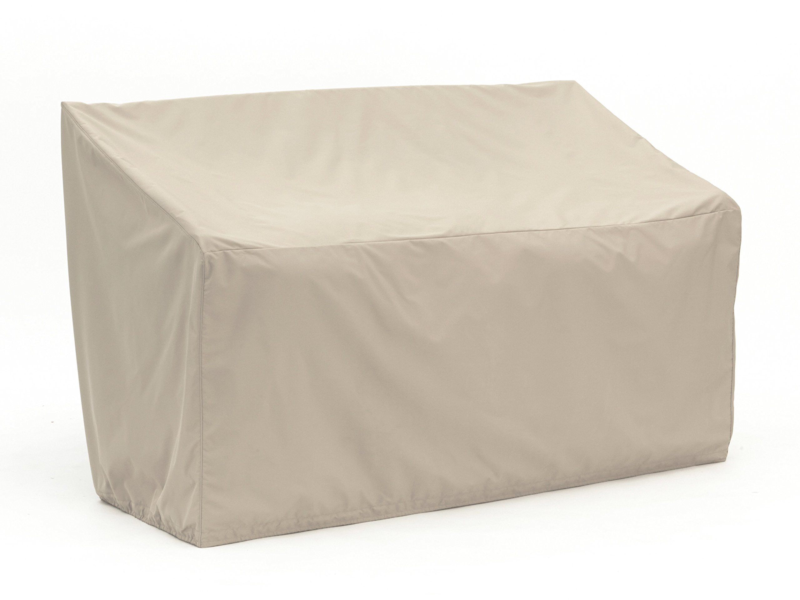 Covermates - Outdoor Patio Glider Cover - 52W x 32D x 34H - Elite Collection - 3 YR Warranty - Year Around Protection - Khaki