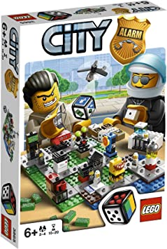 LEGO Juegos de Mesa 3865 - City Alarm: Amazon.es: Juguetes y juegos