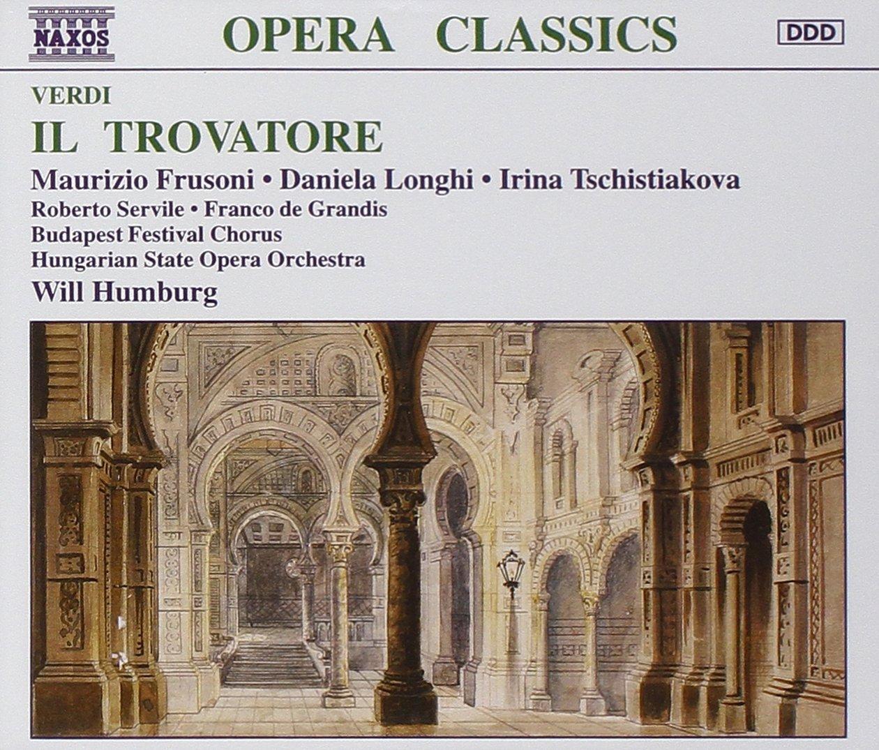 Verdi - Il Trovatore Frusoni · Longhi Tschistiakova Manufacturer Direct sale of manufacturer direct delivery Â