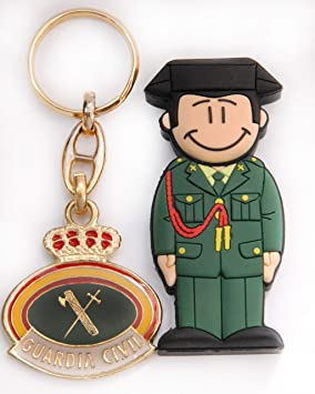 USB Guardia Civil de Academia 16 GB. con Llavero.