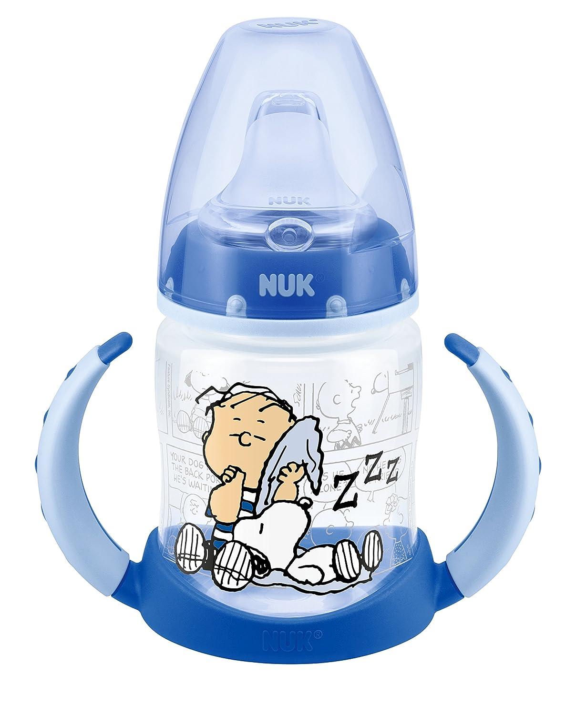 NUK - Botella infantil (PP, 150 ml, tetina de silicona suave, de 6 ...
