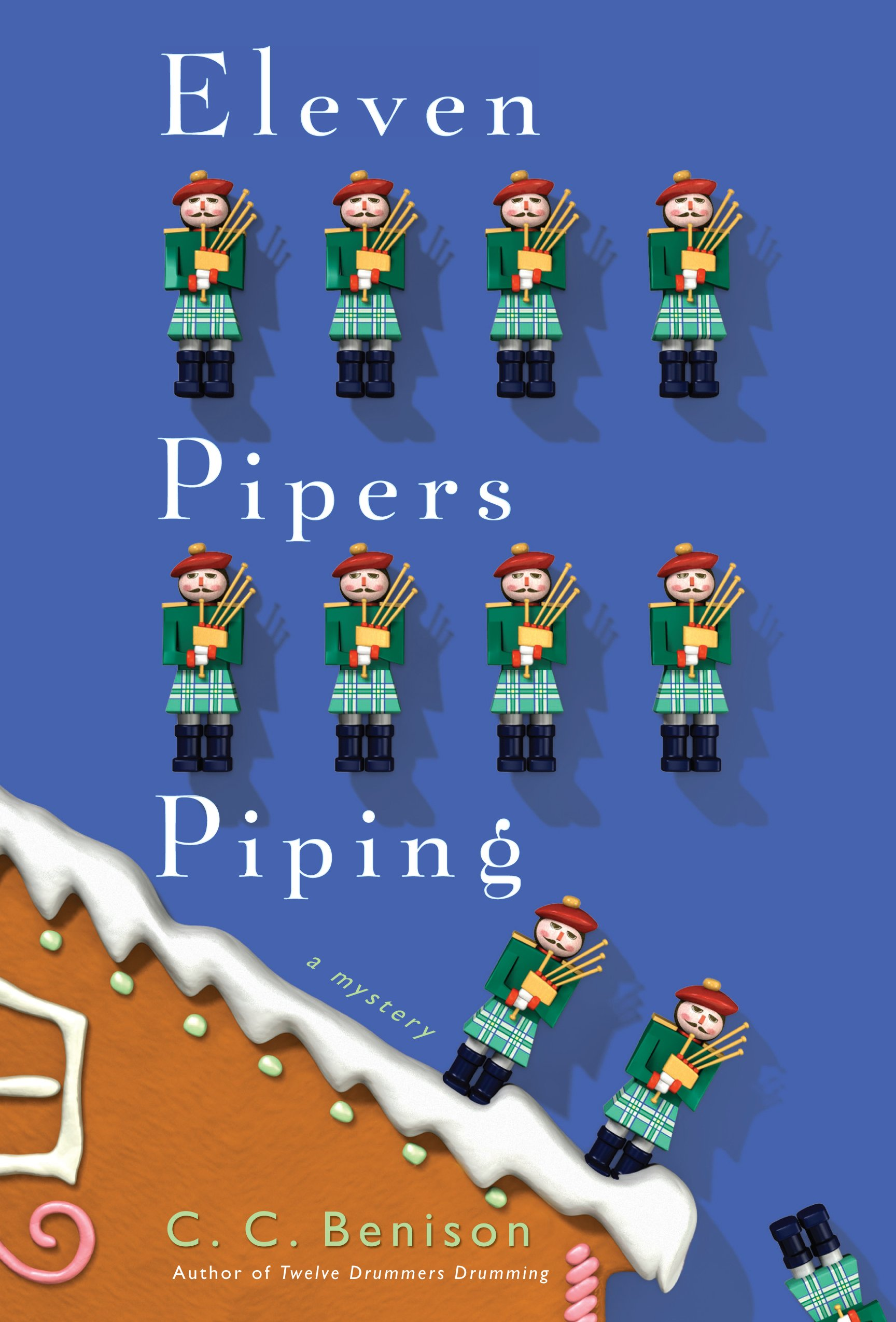 Download Eleven Pipers Piping: A Father Christmas Mystery (Thorndike Press large print mystery: A Father Christmas Mystery) pdf epub