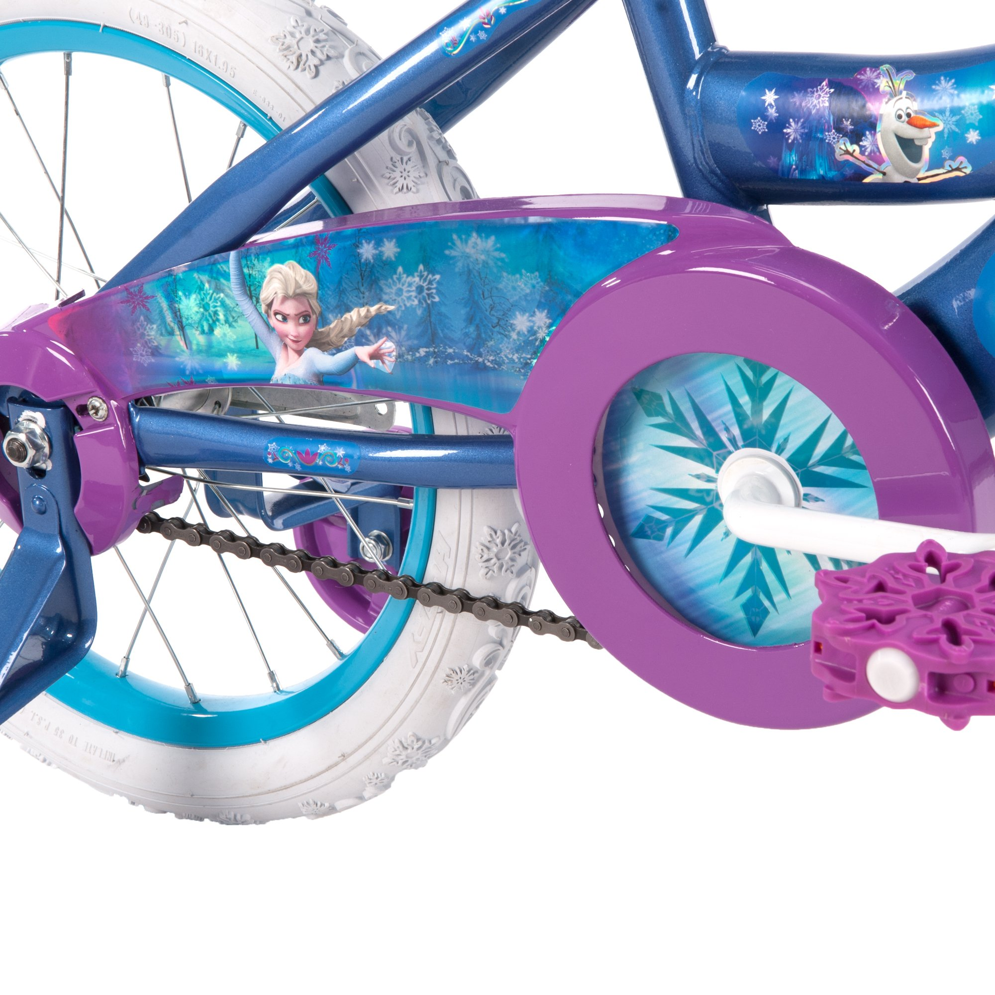 16'' Disney Frozen Bike by Huffy, Ages 4-6, Height 42-48'' by Huffy (Image #2)
