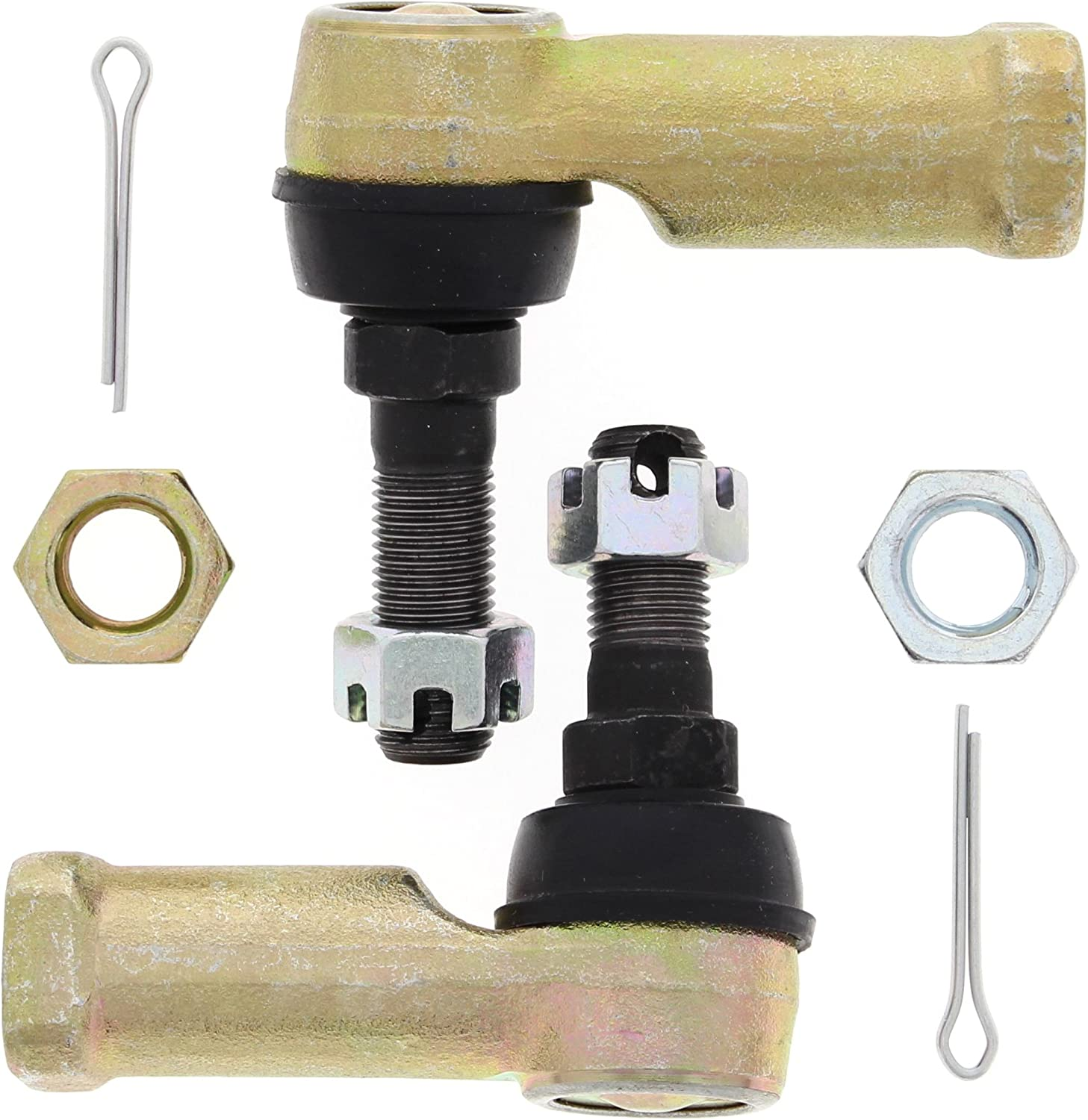 2 Sets of TIE ROD END KIT FITS BOMBARDIER CAN-AM OUTLANDER 800 4x4 STD 2006 2007