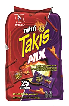 Barcel Mini Takis Crunchy Rolled Tortilla Chips
