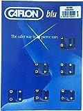 Caflon Lot de 120prothèses Boucles plaqué argent 5mm Grand Cristal Piercing à tige