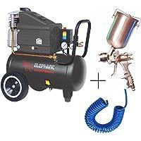 Elephant Air Compressor 30L with Paint Spray Gun & PU Pipe