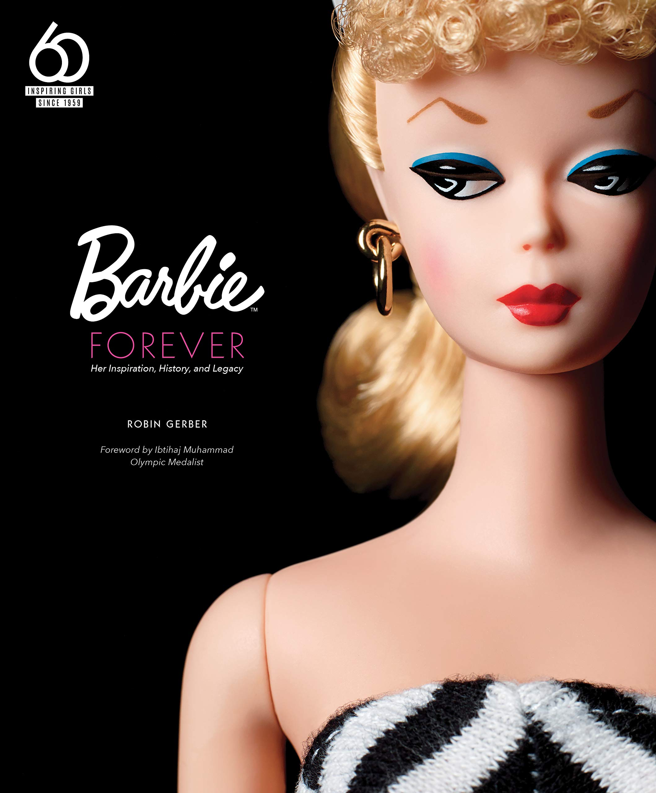 Growing up with Barbie 1959-1997 16 x 20 Poster