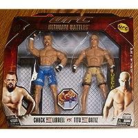 $39 » Tito Ortiz Chuck Liddell UFC Jakks Pacific Action Figures Ultimate Battles 3 Set - Unsigned UFC Products