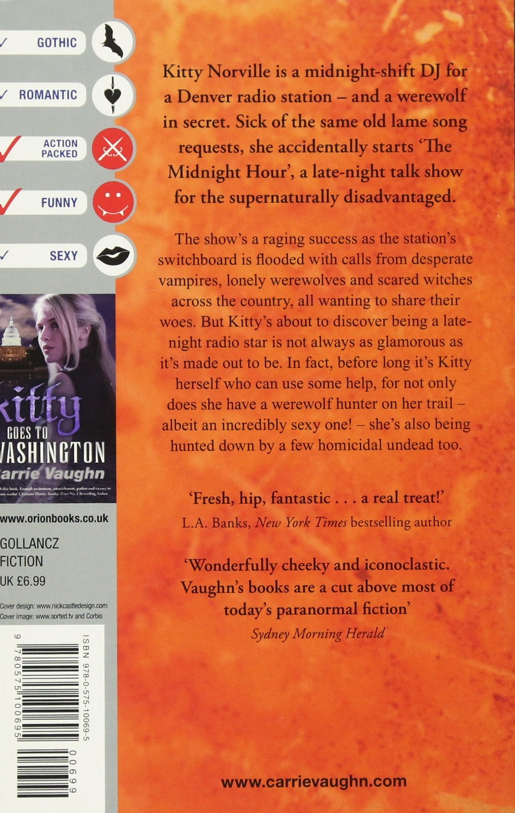 Kitty And The Midnight Hour Norville 1 Amazoncouk Carrie Vaughn 9780575100695 Books