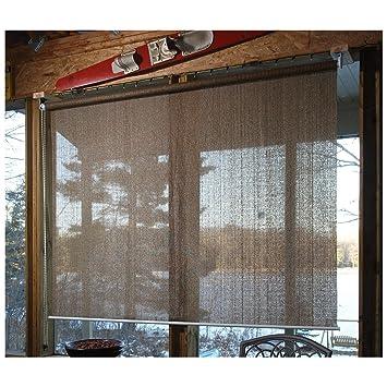 Amazon.com : CASTLECREEK Sunscreen Roll-Up Window Shade, Sand, 4X6 ...