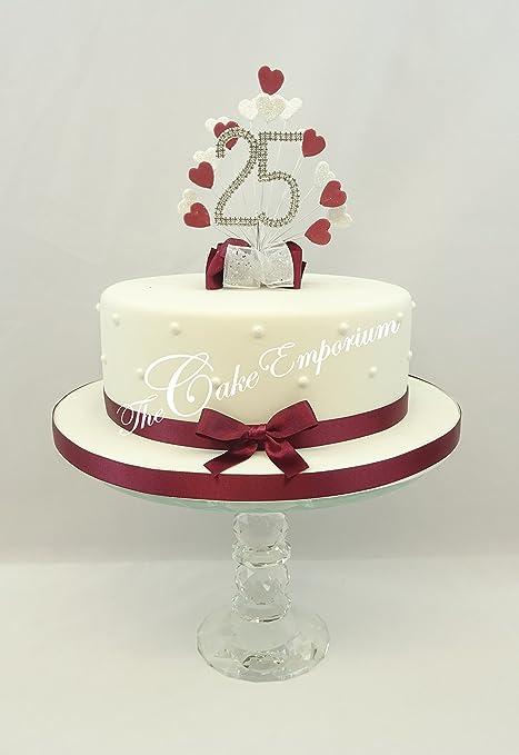 Cake Decoration Cake Topper Burst Spray Diamante 25th Birthday