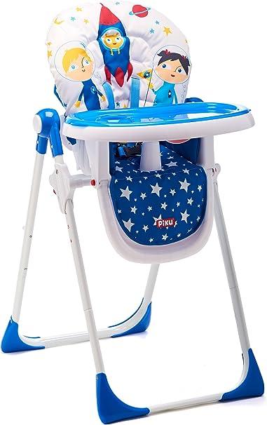 Piku Astronautas - Trona para bebés con bandeja regulable: Amazon ...