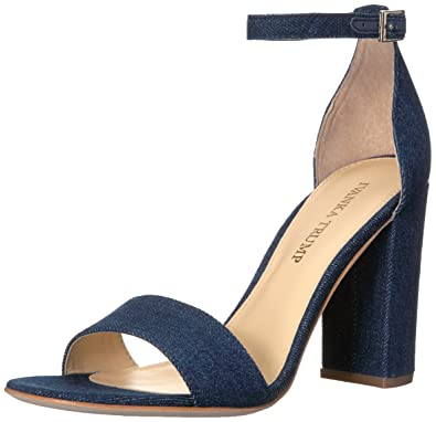 Ivanka Trump Women's Klover4 Dress Sandal, Blue Denim, ...