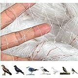 GWHOLE Vogelschutznetz engmaschig Laubschutznetz 10 x 4 m für Balkon Garten