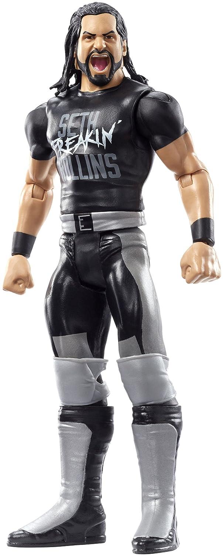 WWE, figurine articulée Seth Rollins, FMD91 figurine articulée Seth Rollins Mattel