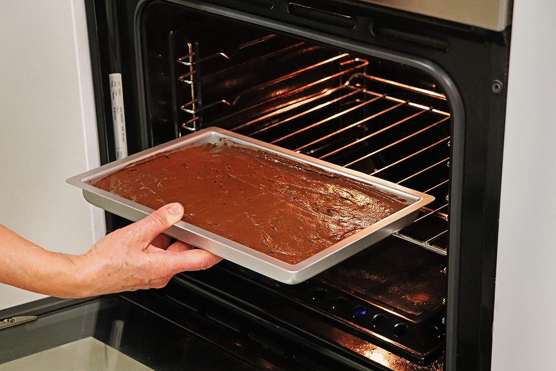 Molde rectangular para tartas PME OBL07111 17,8 x 27,9 x 2,5 cm, aluminio