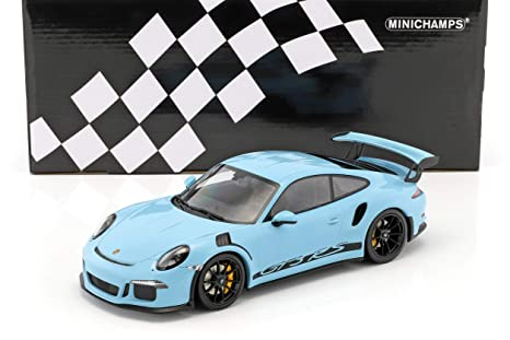 Minichamps - Porsche - 911/991 GT3 RS - 2015 Coche de ferrocarril de Collection, 153066234, Azul: Amazon.es: Juguetes y juegos