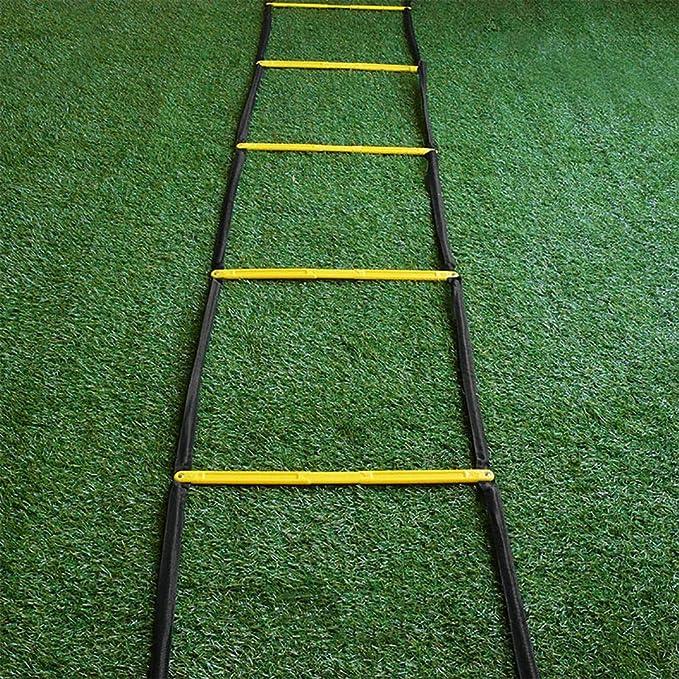 Xin Escalera for Agilidad - Escalera Velocidad, fútbol, Deportes, Ejercicio, Entrenamiento Footwork: Amazon.es: Deportes y aire libre