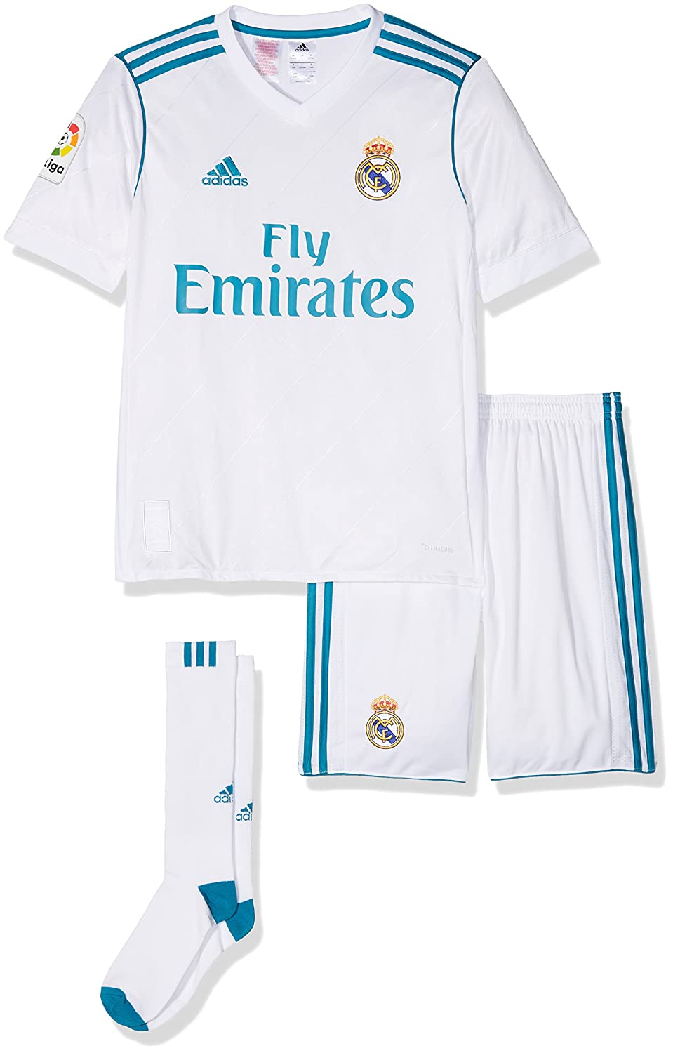 adidas Kinder Real Madrid Heim Mini Kit B31114