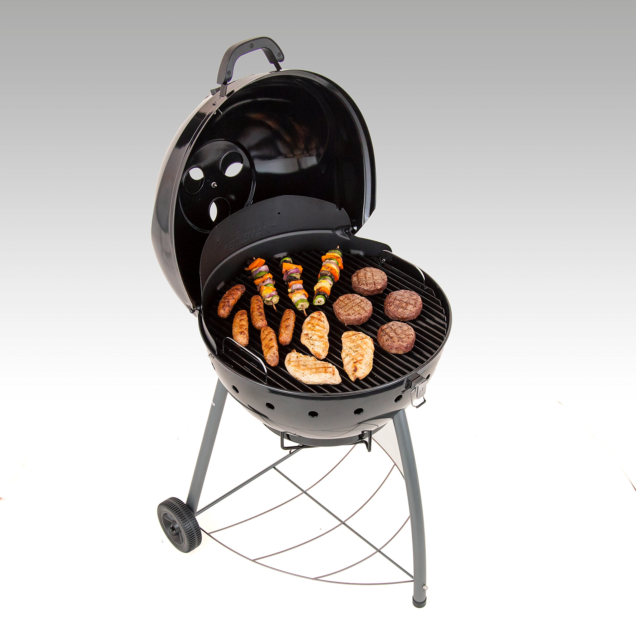 Char-Broil TRU-Infrared Kettleman Charcoal Grill, 22.5 Inch by Char-Broil (Image #3)
