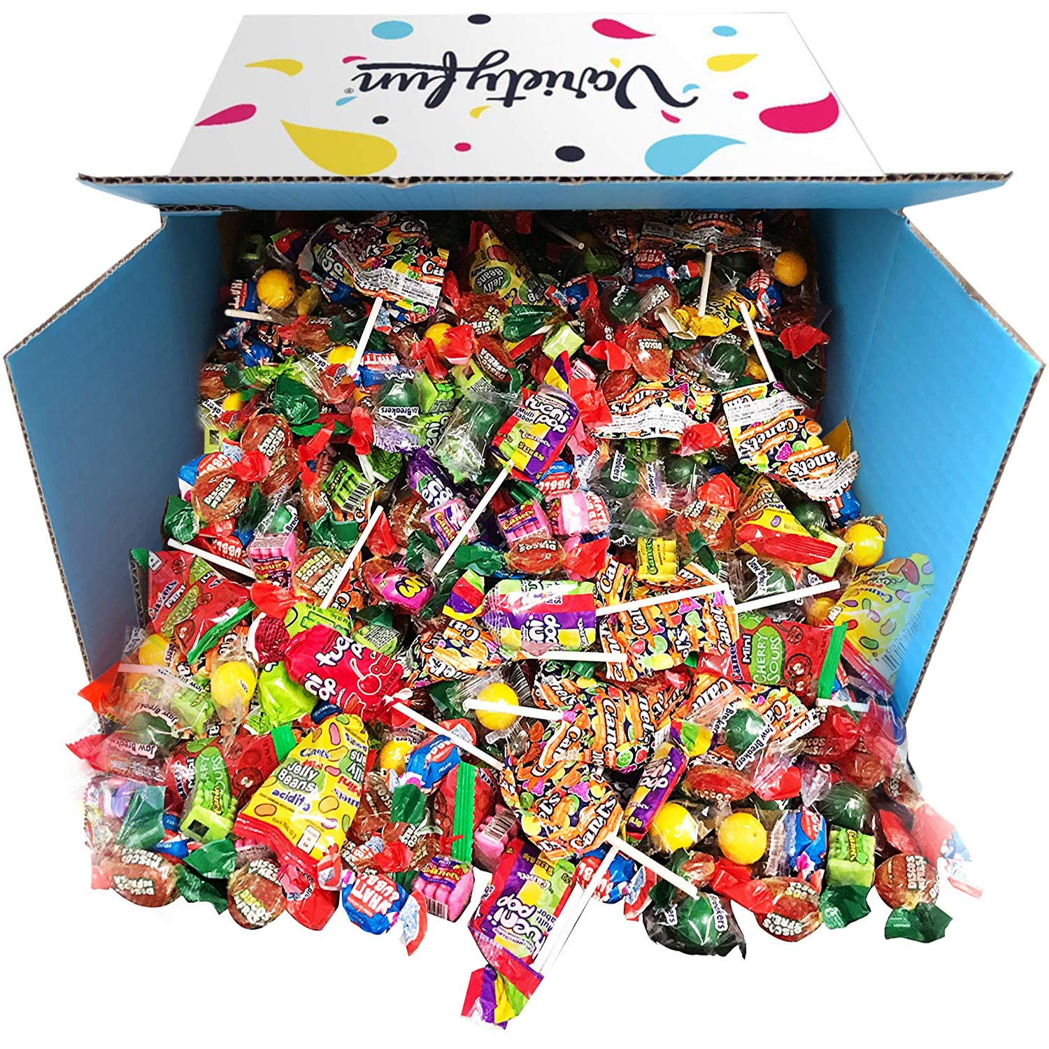 Candy Variety Assortment Bulk Value 10 Pounds by Variety Fun (160 oz) by Custom Varietea