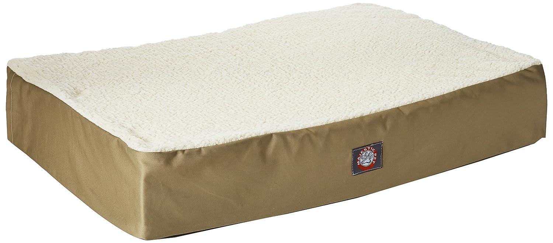 24 x 34, color caqui ortopédica doble perro de mascota cama de Majestic mascota productos pequeño a mediano con funda lavable: Amazon.es: Productos para ...